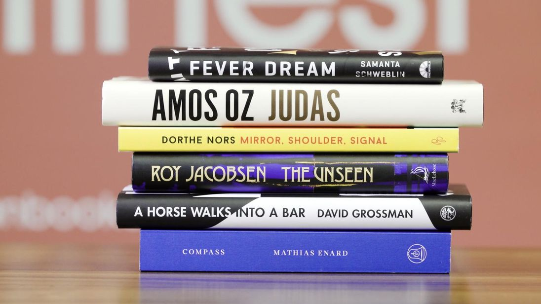 Six books have been shortlisted for the 2017 Man Booker International Prize