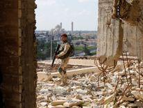 Ameen Mukdad performs in eastern Mosul