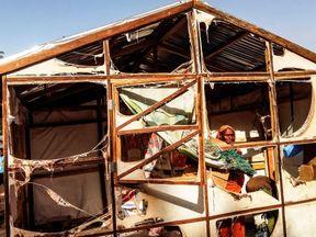 The aftermath of a Boko Haram suicide blast in Maiduguri