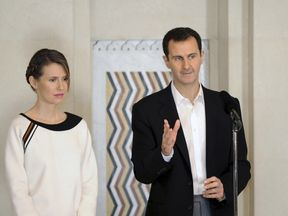 Bashar al Assad and his wife Asma
