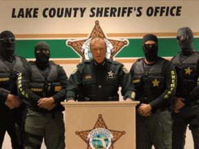 Lake County Sheriff Peyton C Grinnell warns drug dealers