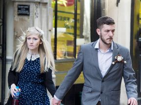 Chris Gard and Connie Yates, the parents of eight-month-old Charlie Gard