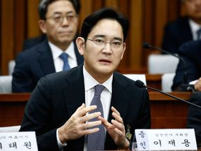 Lee Jae-Yong, vice chairman of Samsung, is facing at least five years in jail if found guilty of bribery and embezzlement