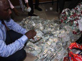 Nigeria corruption. Pic: EFCC