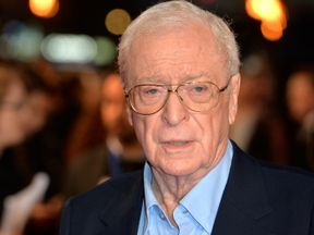 Sir Michael Caine attends the UK Premiere of 'The Last Witch Hunter' at Empire Leicester Square on October 19, 2015 in London, England