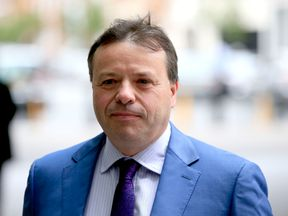 Former UKIP donor Arron Banks, who has announced he will not stand in general election