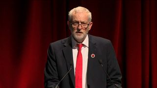 Labour leader Jeremy Corbyn launches his campaign in Scotland