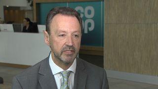 Steve Murrells took over as Co-op Group boss in 2017