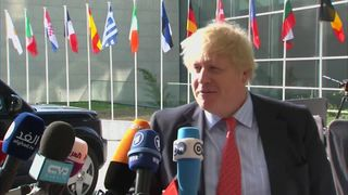 Boris Johnson insists that the sovereignty of Gibraltar is not negotiable