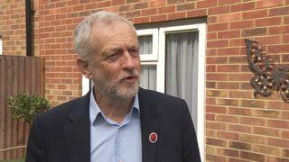 Labour leader Jeremy Corbyn in Harlow