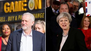 Jeremy Corbyn and Theresa May have kicked off their election campaigns