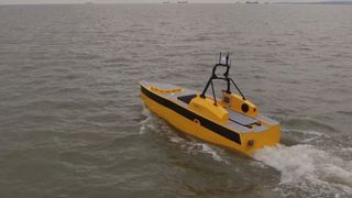 ASV Global's self-driving boat