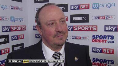 Benitez: We must enjoy this moment