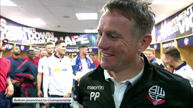 Bolton promoted to the Championship