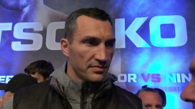 Klitschko: It will be my night