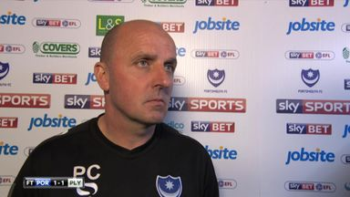 Portsmouth 1-1 Plymouth - Cook