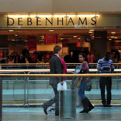 Debenhams issues new profit alert