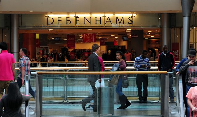 Debenhams to axe 320 store manager roles