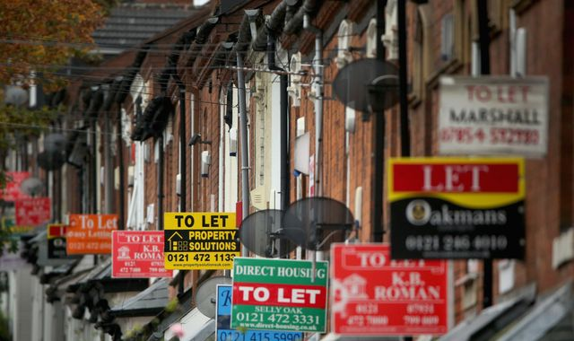 London house prices fall at fastest rate in a decade