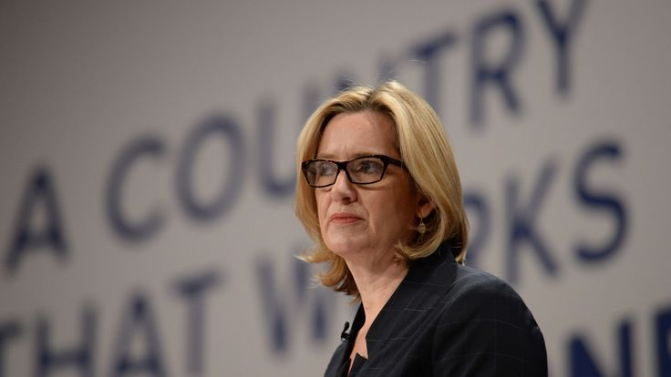 Amber Rudd at the 2016 Conservative Party Conference