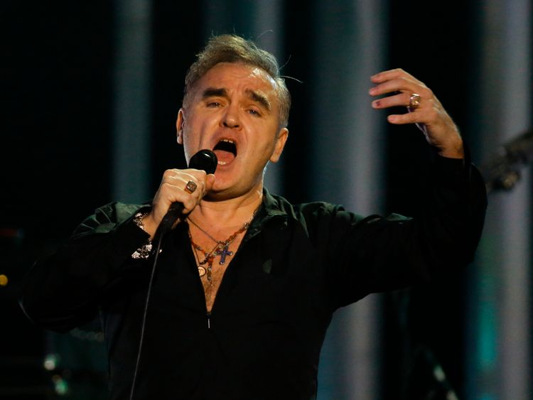 Morrissey revealed he was being treated for throat cancer in 2014