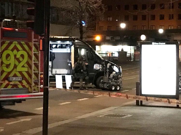 Bomb squad in Oslo