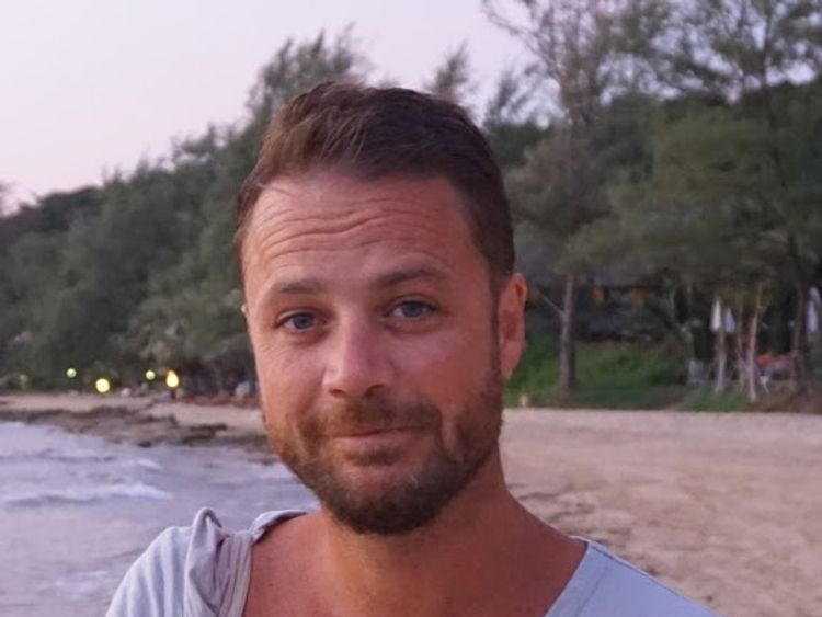 The British victim has been named as Chris Bevington