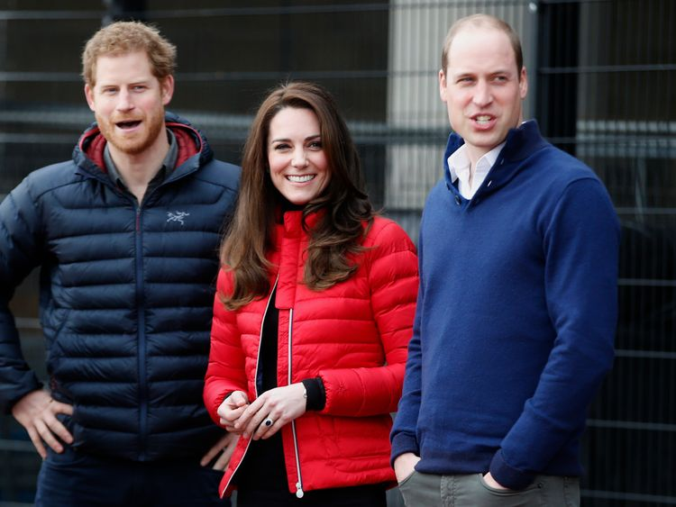 Prince Harry, the Duchess of Cambridge and Prince William are spearheading a mental health charity Heads Together