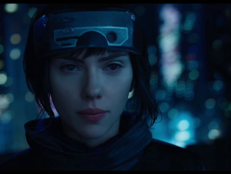 Scarlett Johansson's role in Ghost In The Shell has attracted controversy. Pic: Paramount