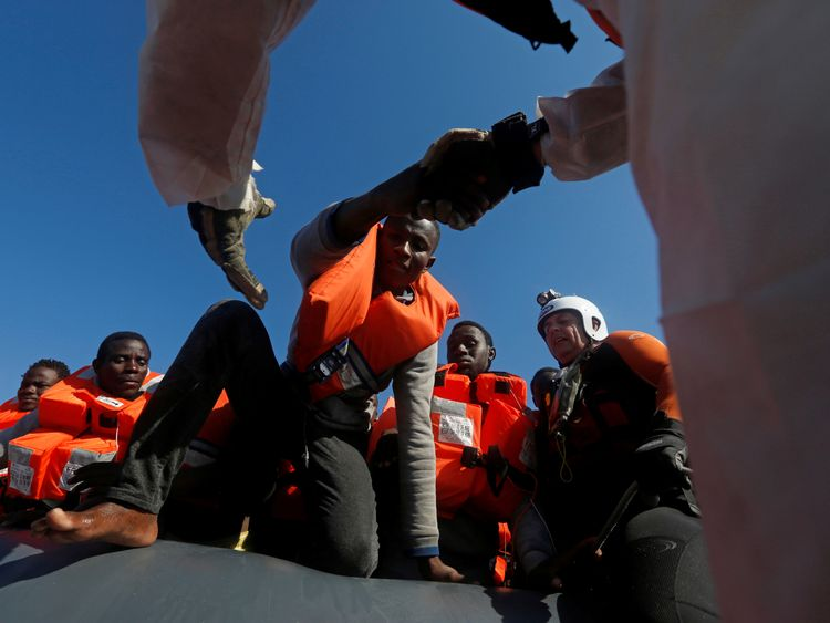 MOAS rescues migrants off Libya