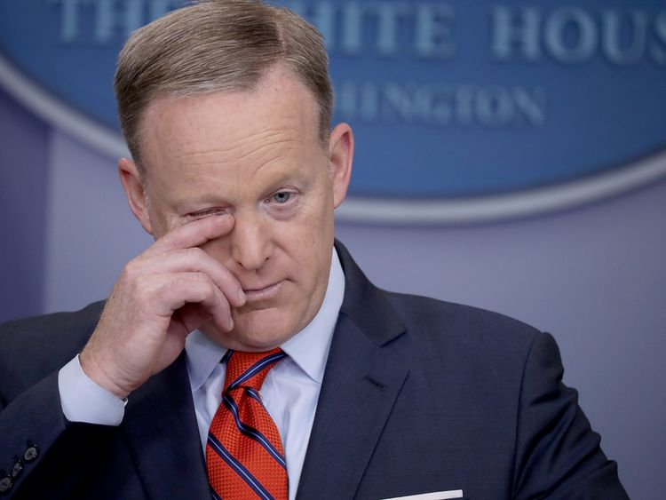 Sean Spicer admits to making a mistake over Hitler claim