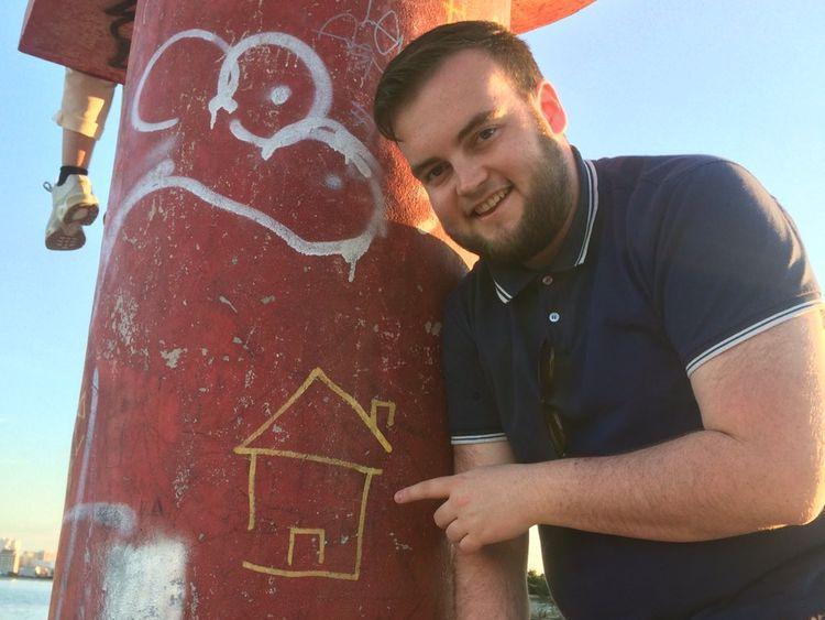 Joe found a new home among his ten travel buddies