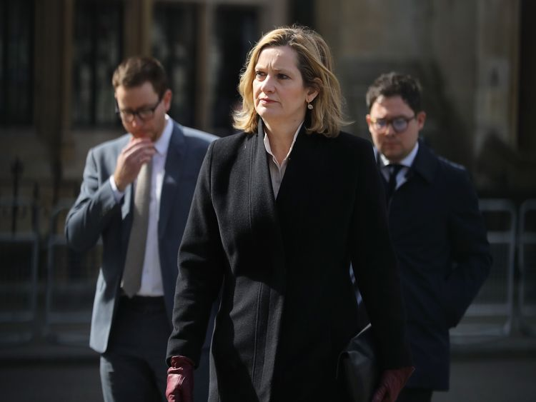 Amber Rudd joins those going to the service