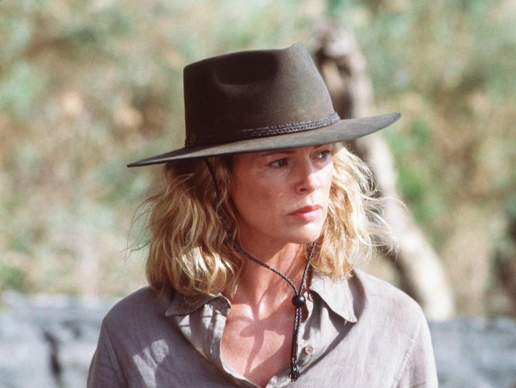Kuki Gallmann's memoirs were turned into a film starring Kim Basinger (pictured)