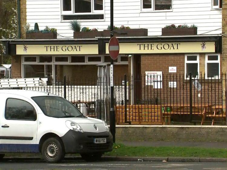 The Goat pub, Croydon