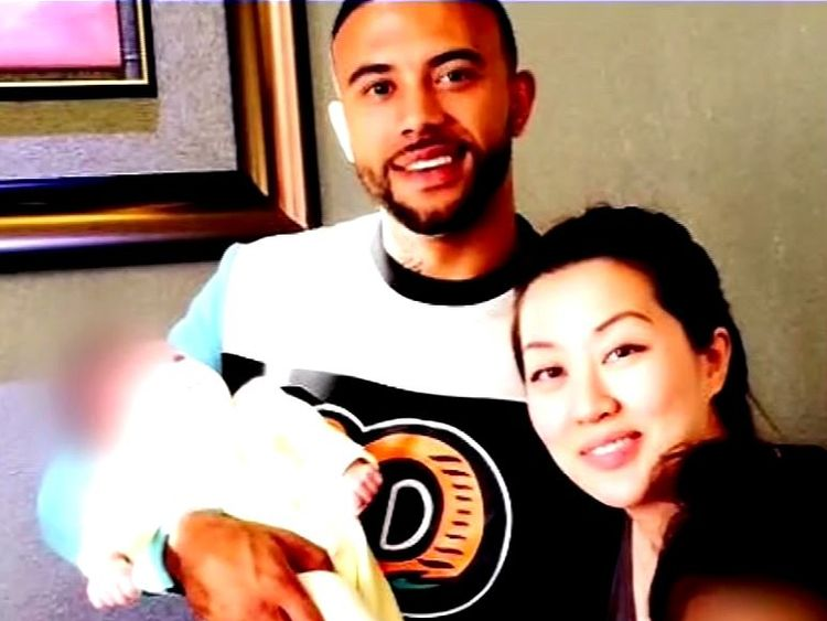 Tiffany Li is accused of directing her boyfriend and another man to kill her ex-boyfriend Keith Green. Pic: CBS