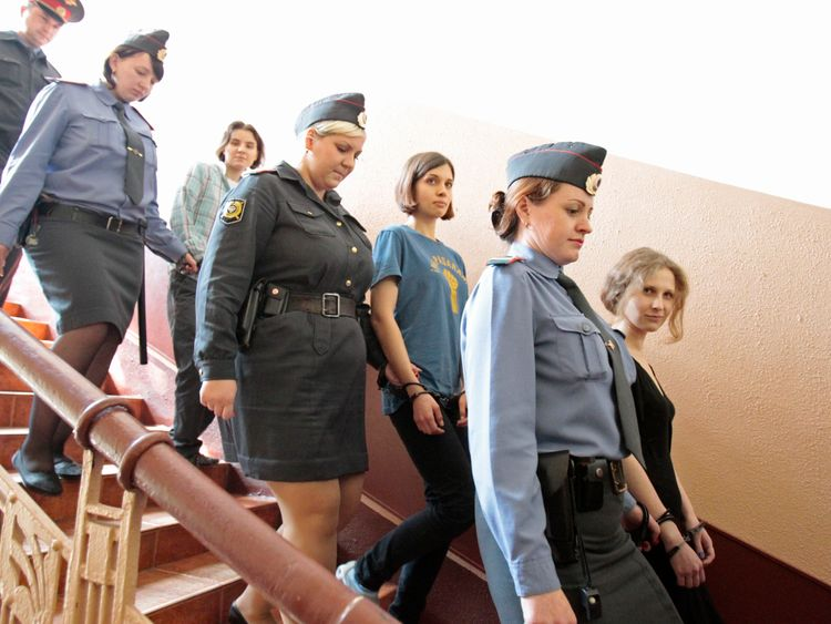Mr Sokolovsky faces the same charge as that used to successfully prosecute members of Pussy Riot