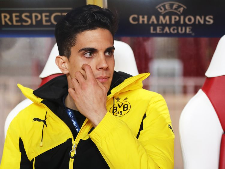 Marc Bartra returned to the bench for Dortmund