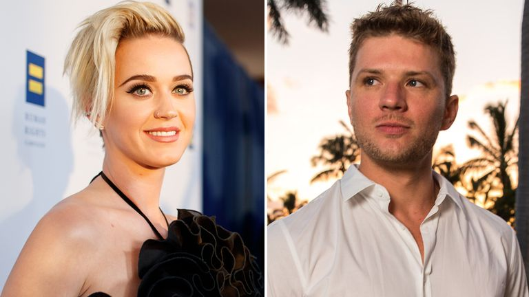 Katy Perry and Ryan Phillippe