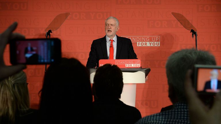 Jeremy Corbyn launches Labour's local elections campaign