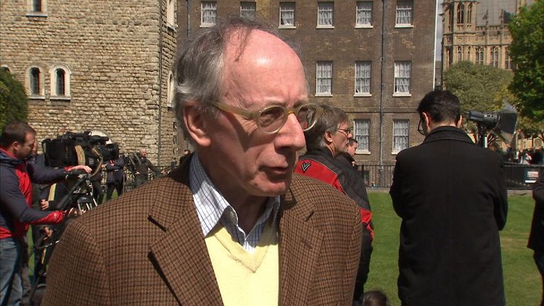 Sir Malcolm Rifkind on Abington Green