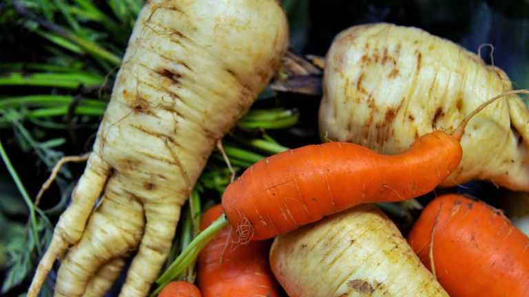 Wonky veg, which MPs say supermarkets should sell more of
