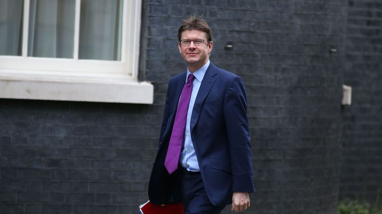 British Business, Energy and Industrial Strategy Secretary Greg Clark arrives for the weekly meeting of the cabinet at 10 Downing Street in central London on February 7, 2017