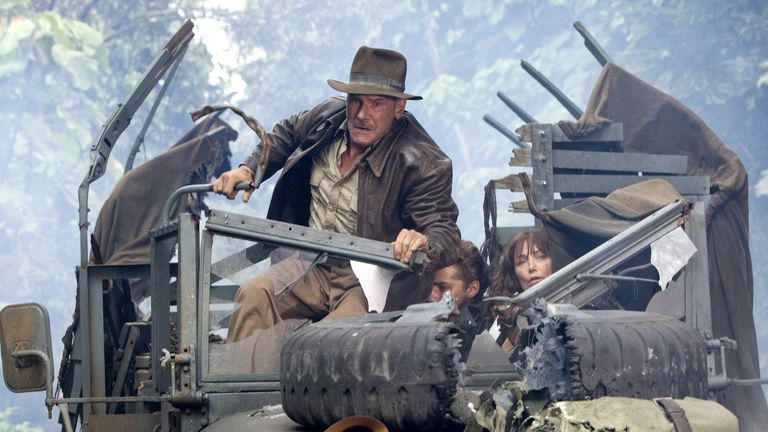Harrison Ford will be reprising his iconic role as the whipping explorer