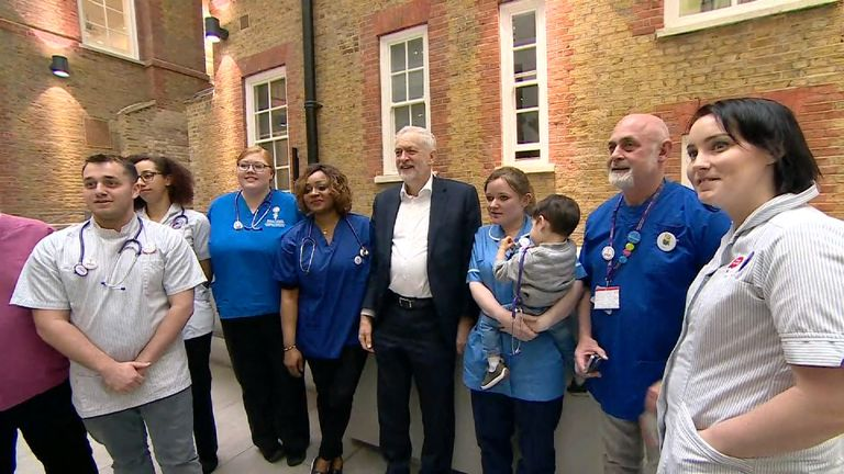 "Labour proposes new laws to ensure ""safe staffing"" levels in hospitals."