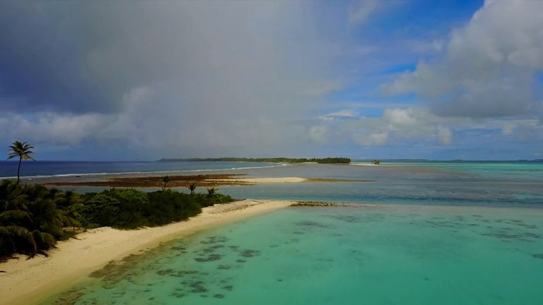 Beaches in the Cocos Keeling Islands
