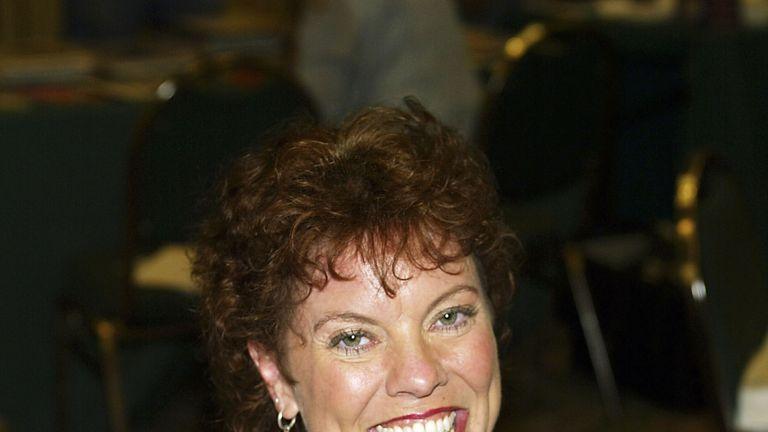Erin Moran in 2003