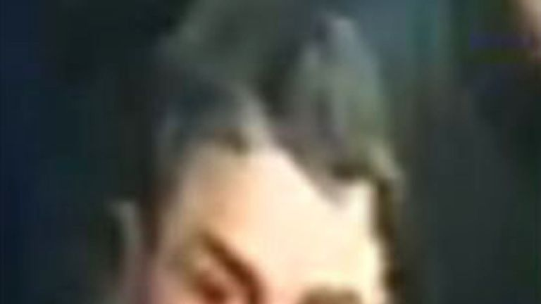 CCTV image of Arthur Collins in Mangle on the night of the attack