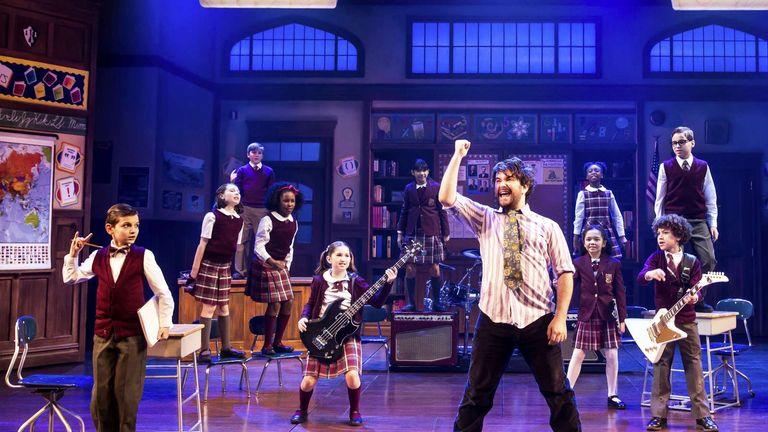 School Of Rock won outstanding achievement in music