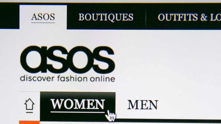 Asos is an online-only fashion retailer